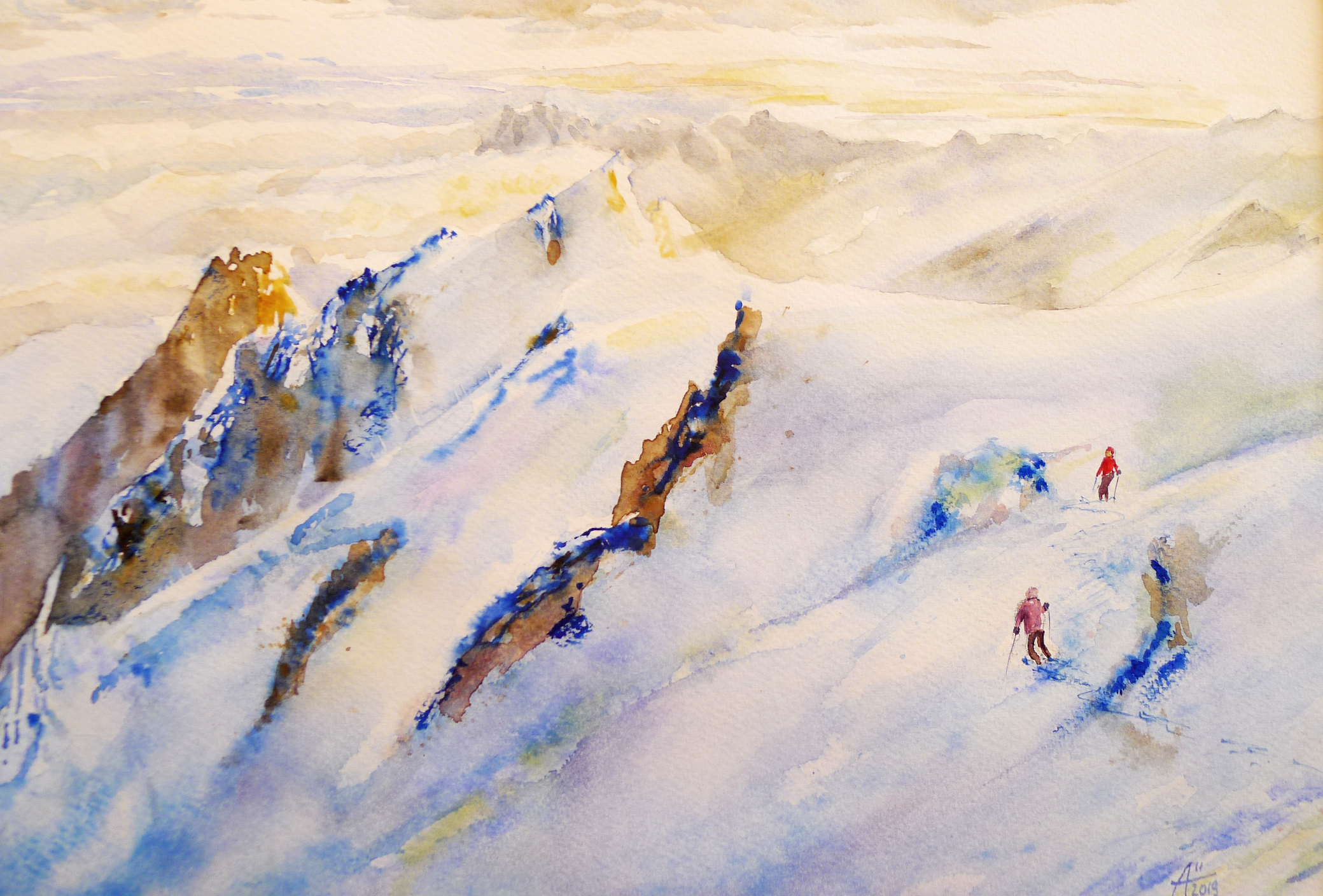 ski levve soleil