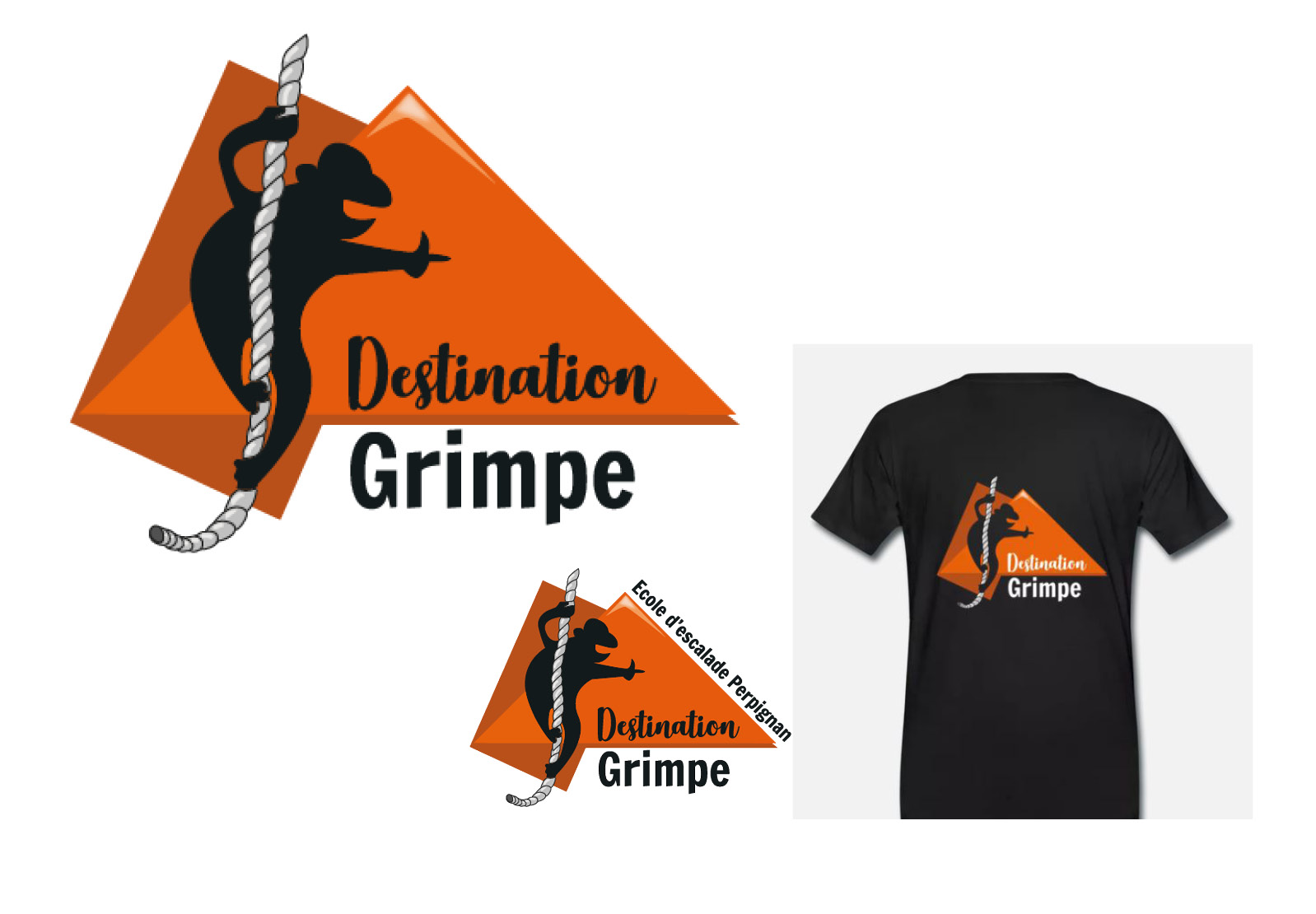 logos destination grimpe